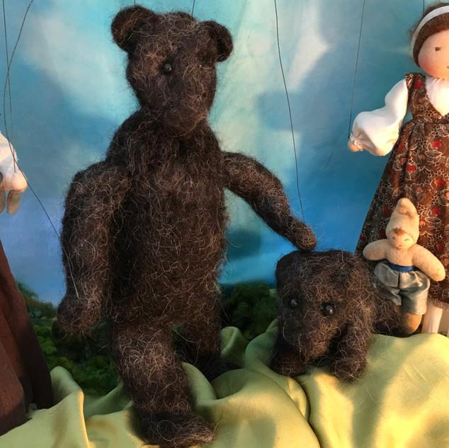 Big Bear and Little Cub