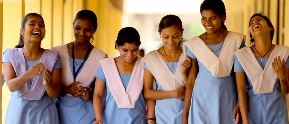 Going to School India