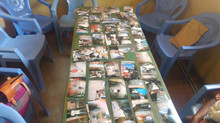 Preparing for the exhibition