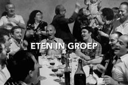 Eten in groep Partaasch