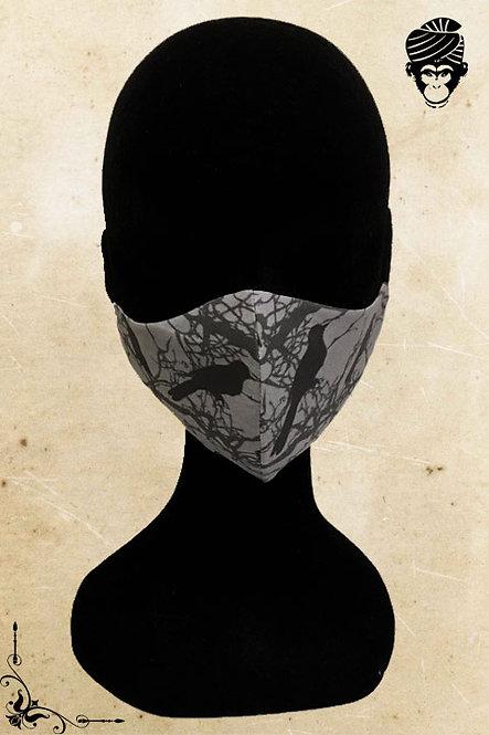 Mondmasker Dames BLACK CROW
