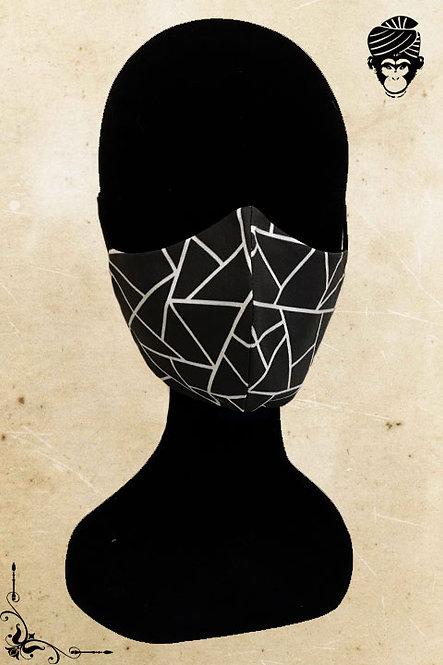 Mondmasker Dames BLACK WHITE
