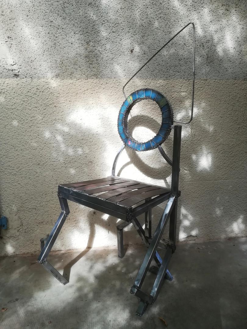 """chaise """"porte des étoiles"""""""