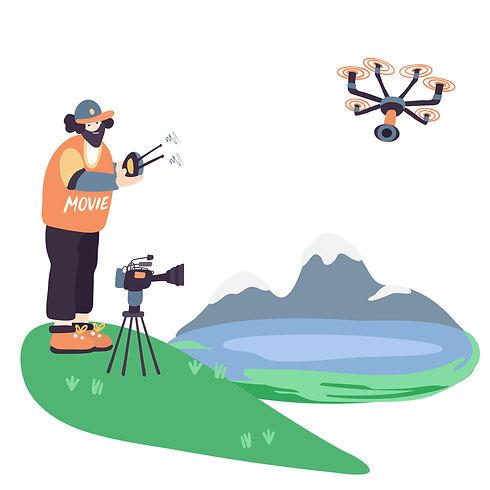 drone pilot commercials