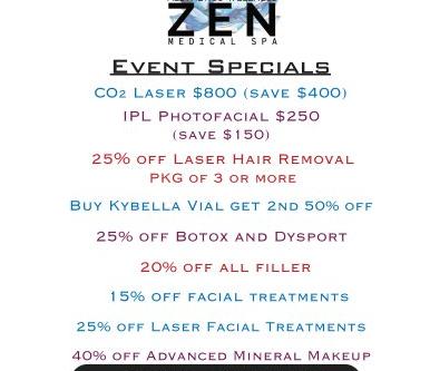 Zen Event - October 10, 2019 2-7pm