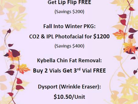 Buy Facial Filler Get Lip Flip Free! $525 Save $200