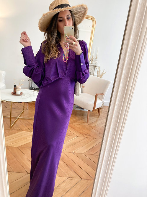 Robe Holly violette
