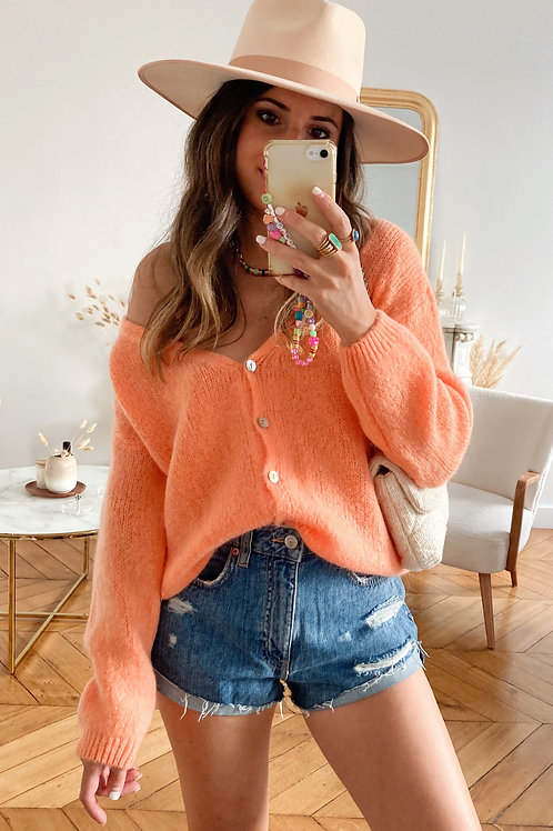 Gilet Alfredo orange