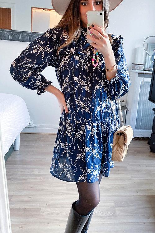 Robe Lola bleue marine