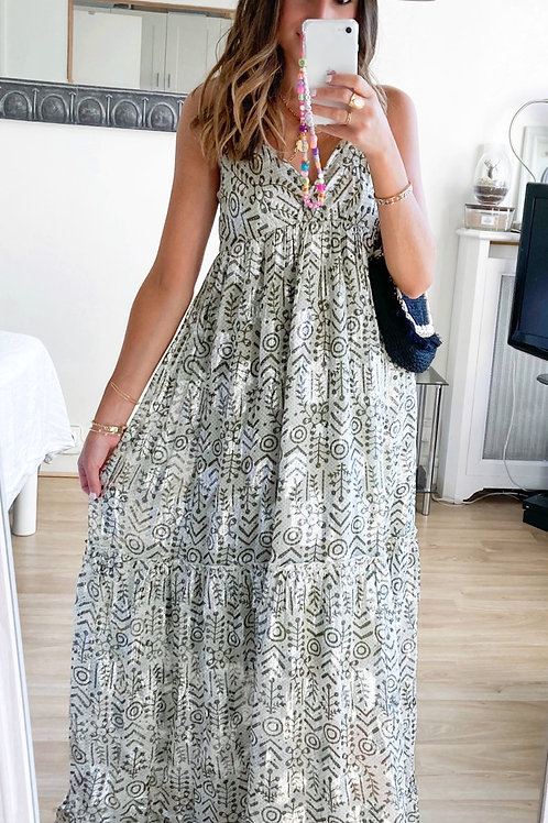 Robe Aya brillante