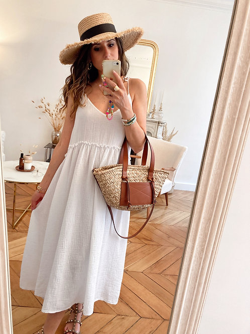 Robe Ischia blanche