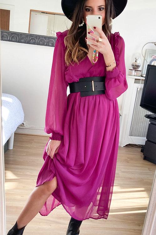 Robe Adela violette