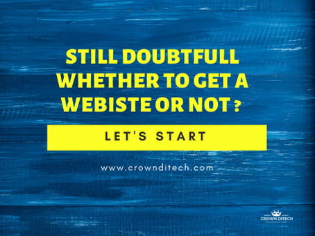Top 3 reasons why a website is important for your business in 2020
