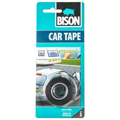 Лента двухсторонняя самоклеящаяся BISON CAR TAPE, 15м*19мм