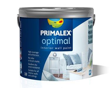 Интерьерная краска для стен Primalex Optimal