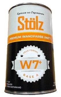 Stölz W7+. Высокоукрывная краска для стен