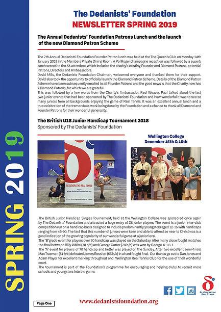 SPRING Newsletter 2019 Page 1 (final).jp