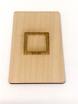 OmniSense Wood ESP Cards