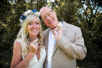 Keith and Angie's Handfasting ceremony