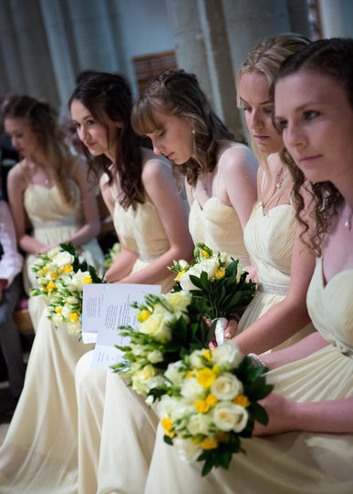 Alex and Eleanor's wedding