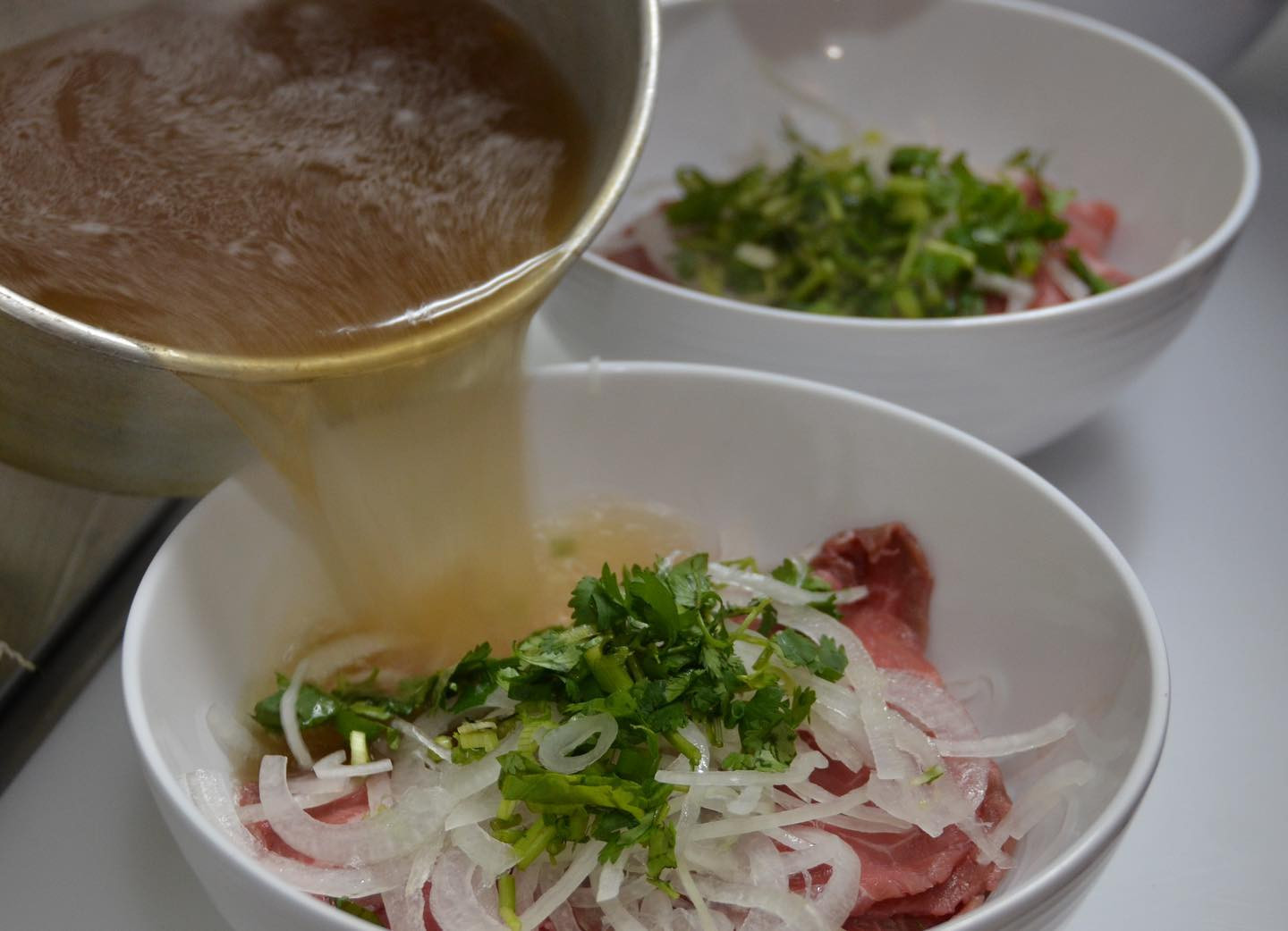 #22 Pho Tai (thinly sliced meat(