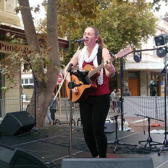 Kathryn at Freo festival_#fremantle #pirate88