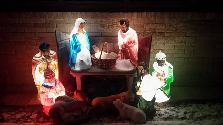 Mary, Jesus and the Wise Men