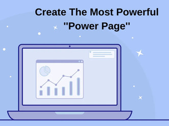 """How do you create the ultimate ''Power Page""""?"""