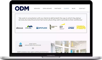 open-door-management-website