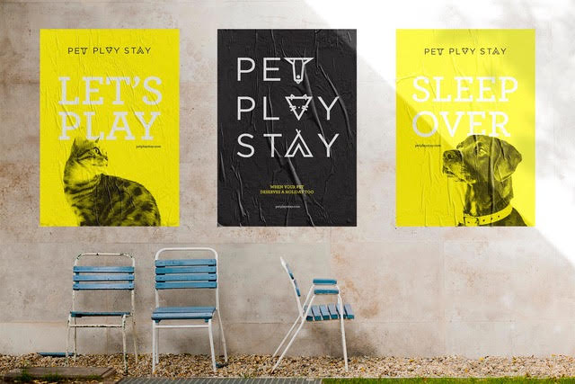 Pet-play-stay-graphic-design
