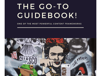 The Go-To Guidebook! One of the most powerful Content Frameworks