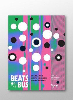 Poster-Beats-on-the-bus-graphic-design