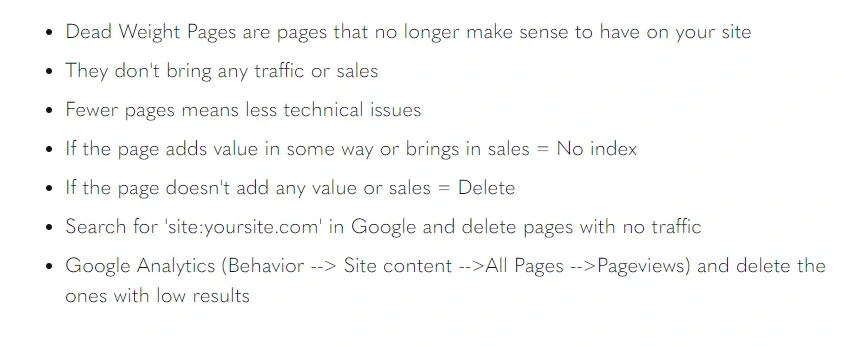 No-blah-blah-Learn-how-to-delete-Dead-Weight-Pages