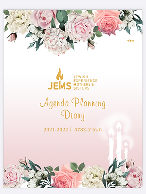 The JEMS Agenda Planning Diary