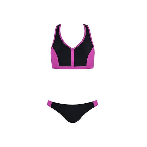 Color Clash Bikini