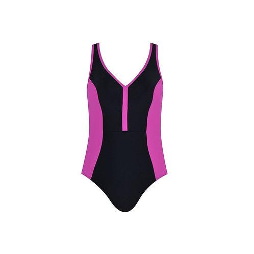 Color Clash Swimsuit