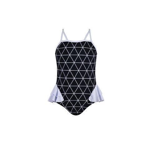 Lattice Girls Swimsuit