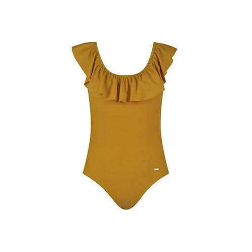 Ruffling Swimsuit