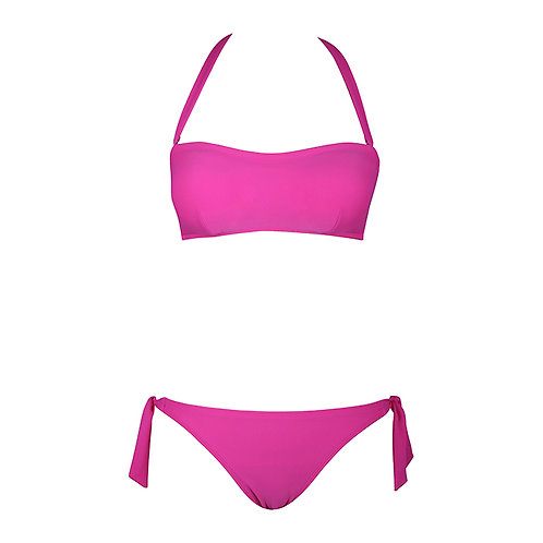 Cutaway Super Push Up Bandeau Bikini
