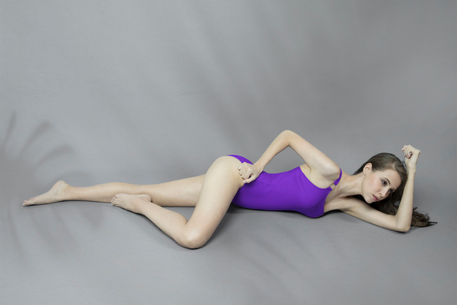 Hoopla Swimsuit - PURPLE