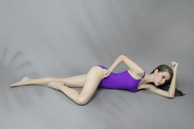 Hoopla Swimsuit - PURPLE
