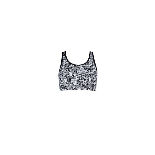 Pixelated Bra Top