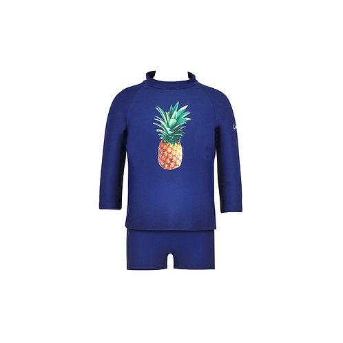 Pineapple Dream Kids Rashguard Set