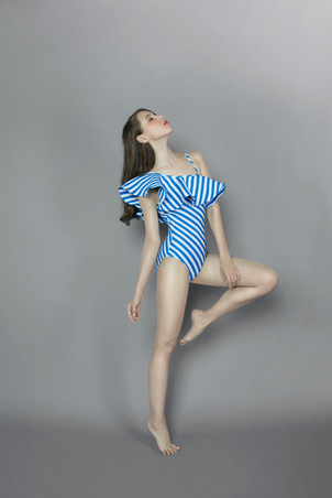 Rufflemania Swimsuit - TEAL