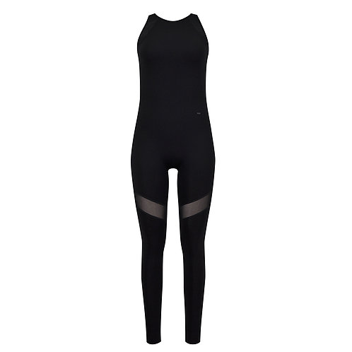 Mesh Splicing Bodysuit