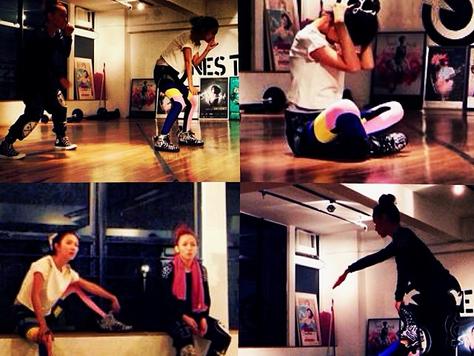 Gourami legging as seen on Hong Kong singer Fiona Sit
