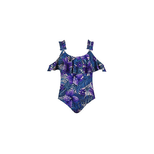 Tropical Aloha Girls Swimsuit