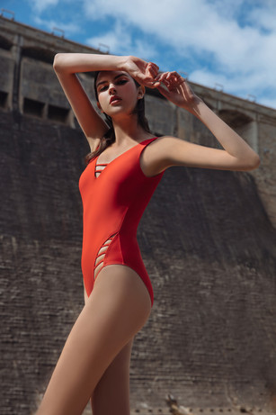Ladder Works Swimsuit - Red