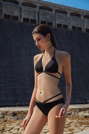 Beadmania Reversible Bikini - Black