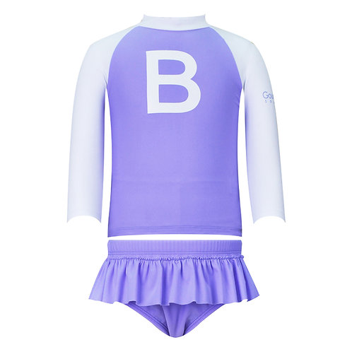 Swim Fit Girls Rashguard Set